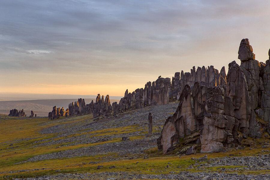 Гранитные города Улахан-Сис, Якутия