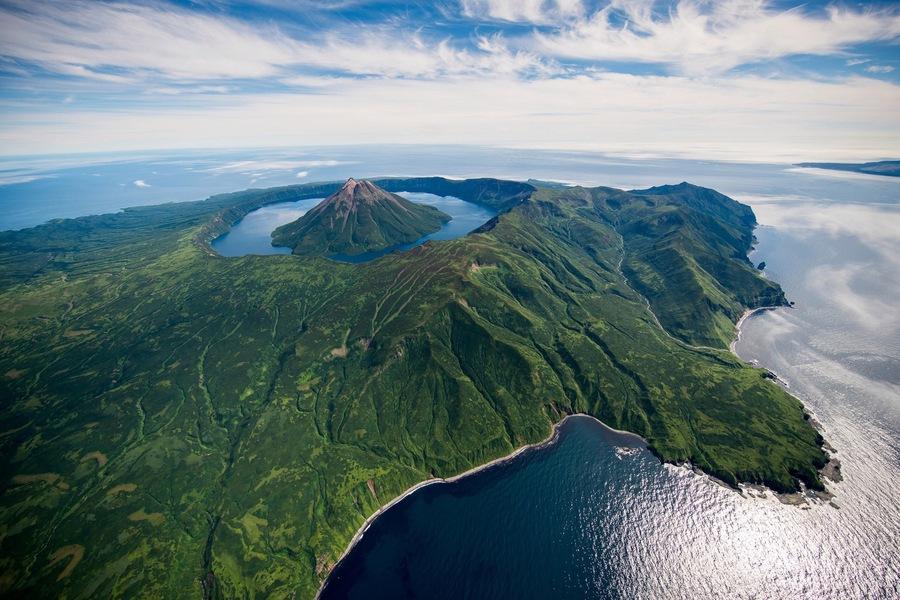 Курильские острова, Камчатка