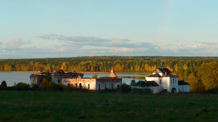 Кожеозерский монастырь, Архангельская область