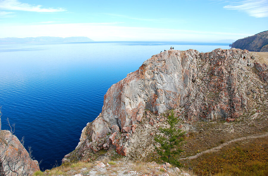 Мыс Рытый, озеро Байкал