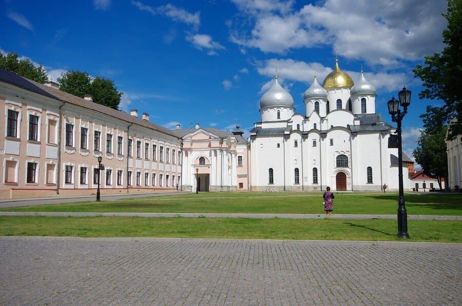 Великий Новгород. Кремль и Софийский собор