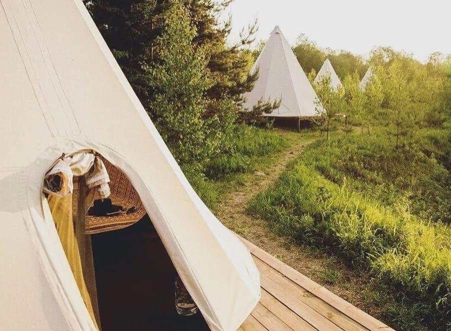 Boho Camp. Деревня Имоченицы, Ленинградская область