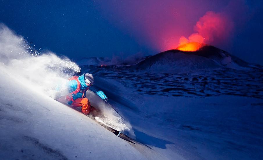 Горные лыжи на Камчатке