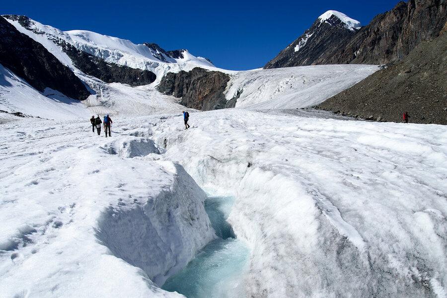 Ледники Актру
