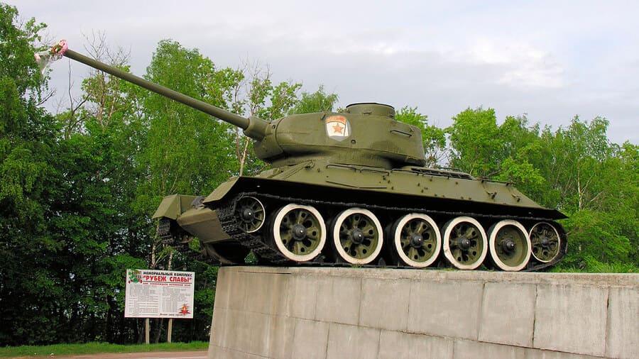 Музей отечественной военной истории в деревне Падиково