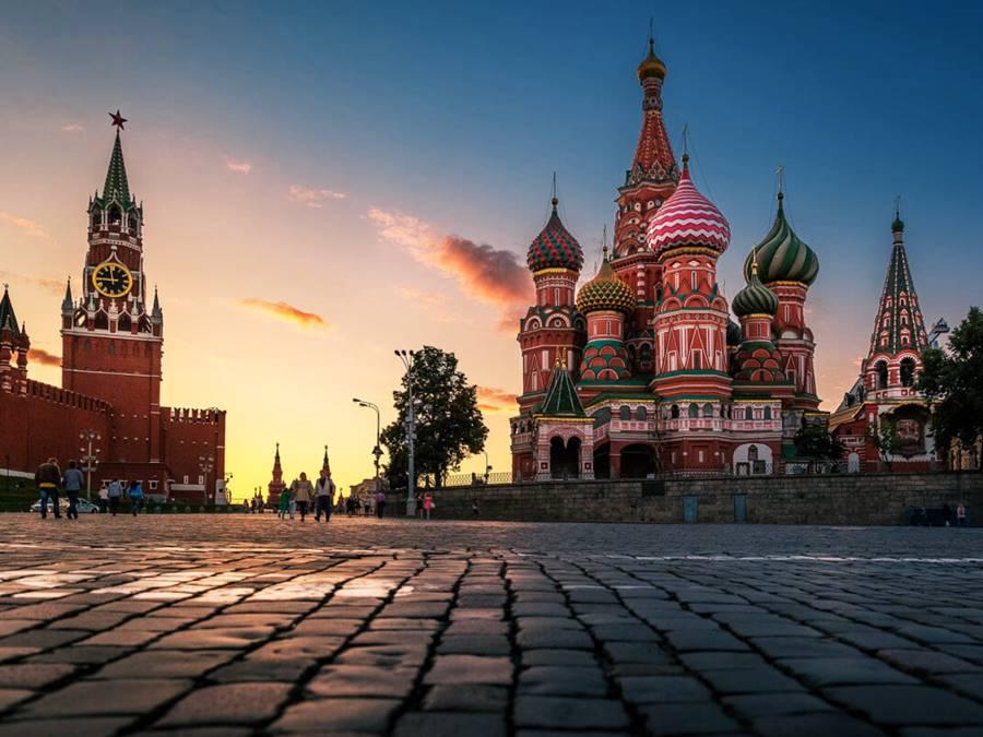 Красная площадь и Московский Кремль