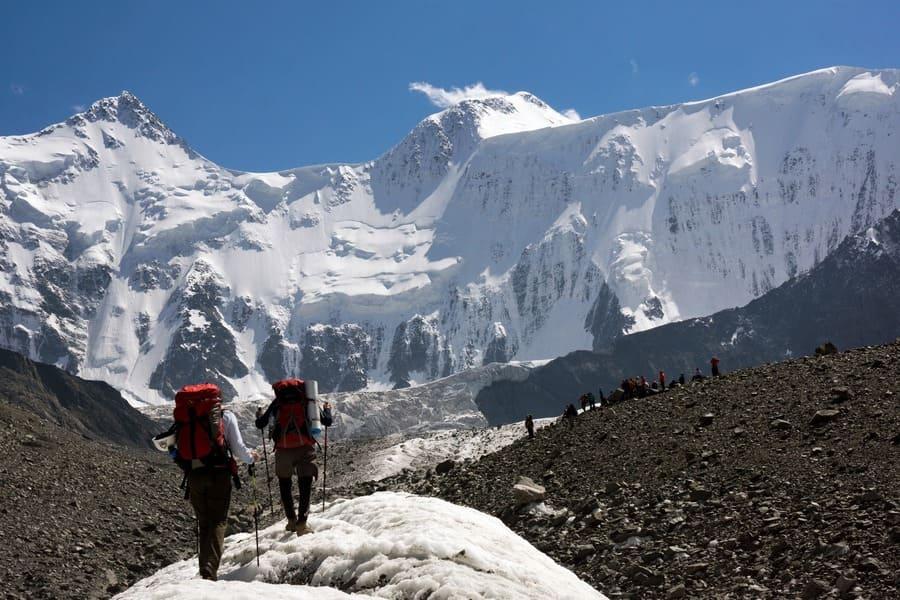 Восхождение на гору Белуху