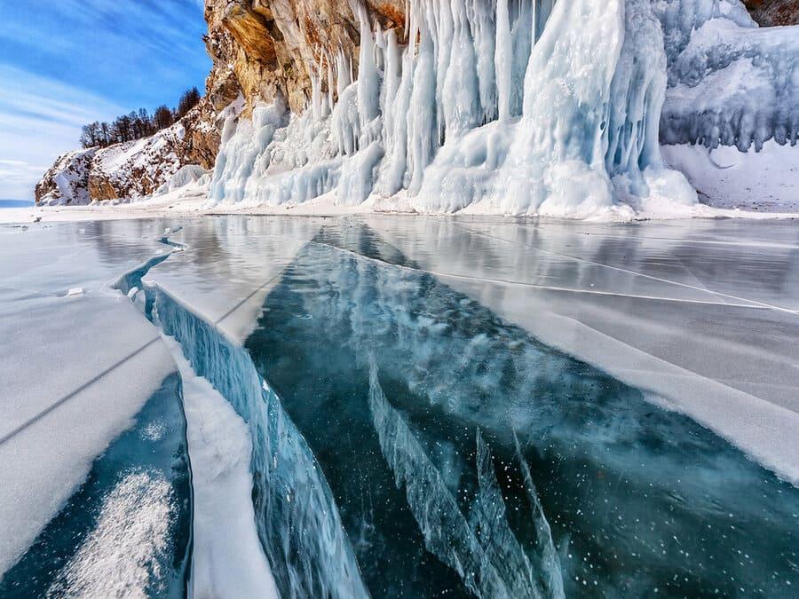 Когда лед на Байкале начинает таять