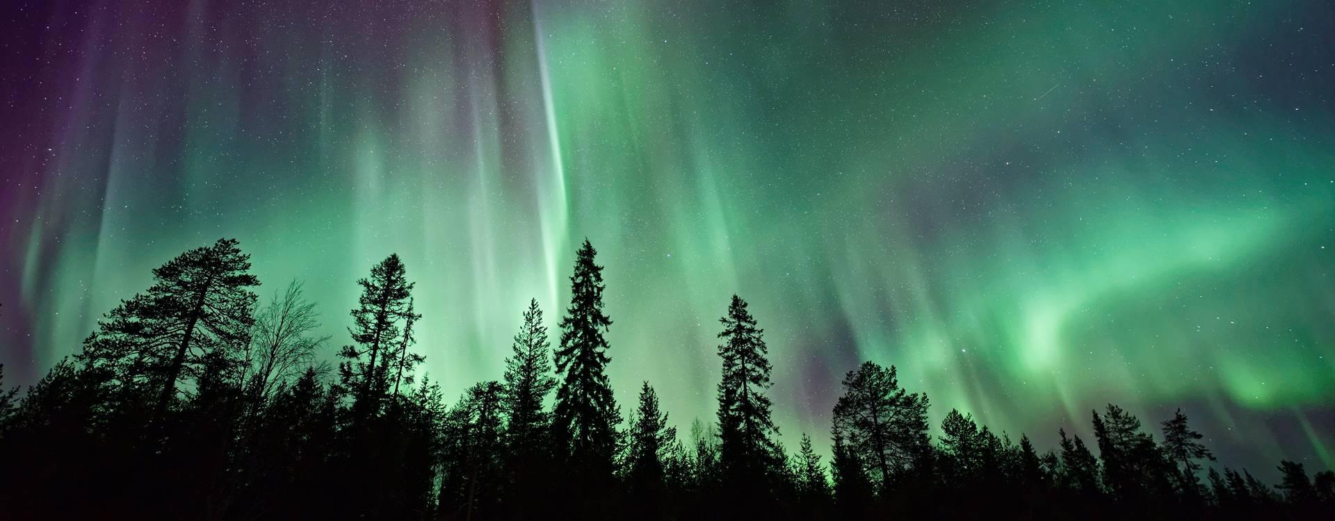 Где увидеть северное сияние