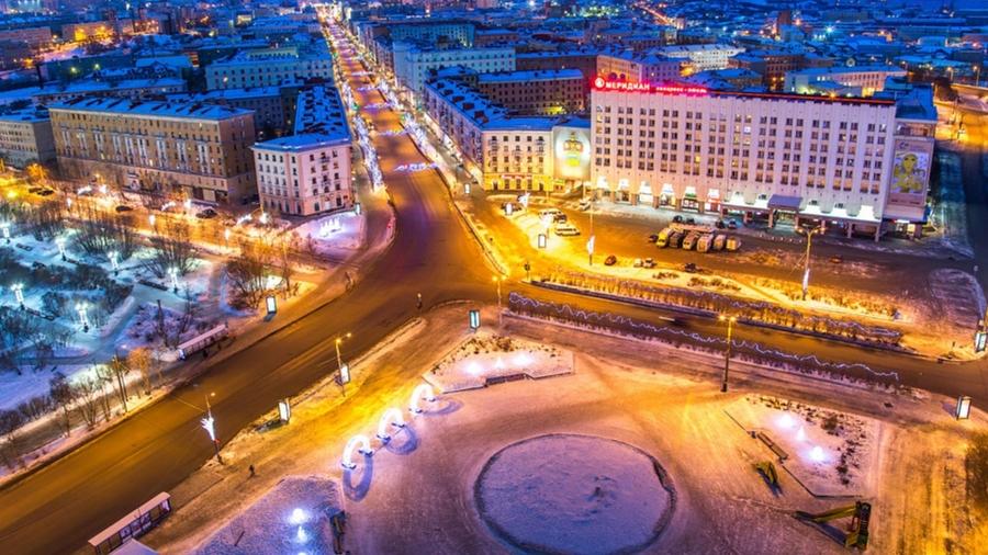 «Столица» полуострова Мурманск