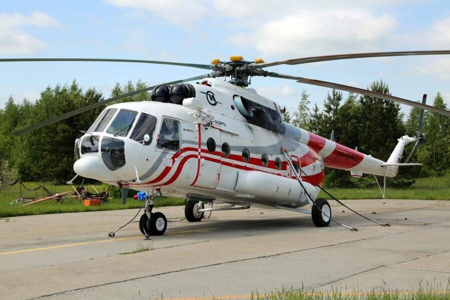 Описание вертолета для экскурсий по Камчатке
