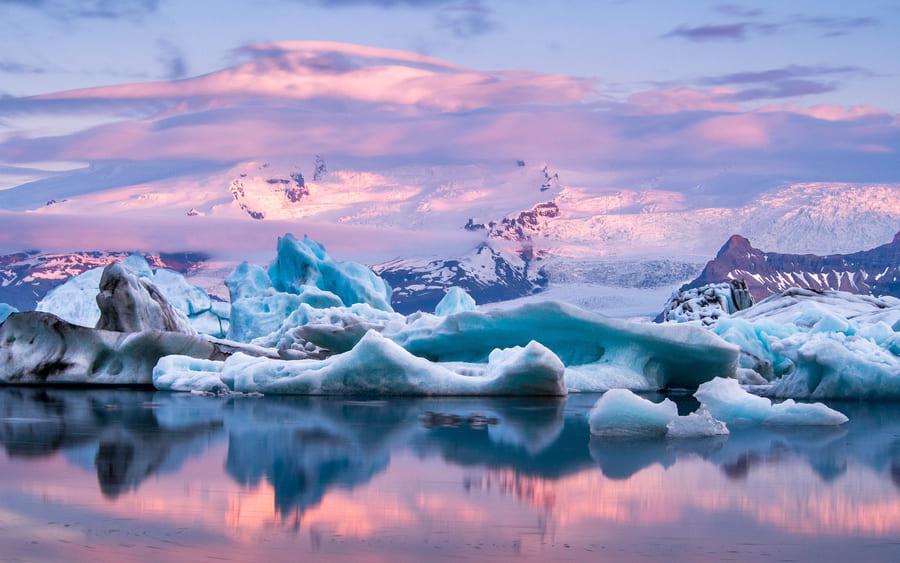 Виды льдов в Арктике