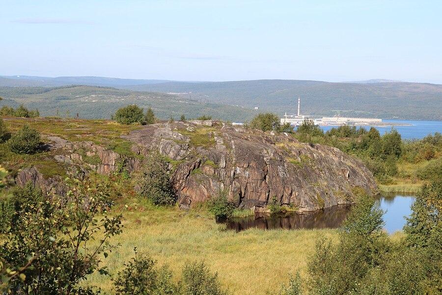 Бараний лоб у озера Семёновское
