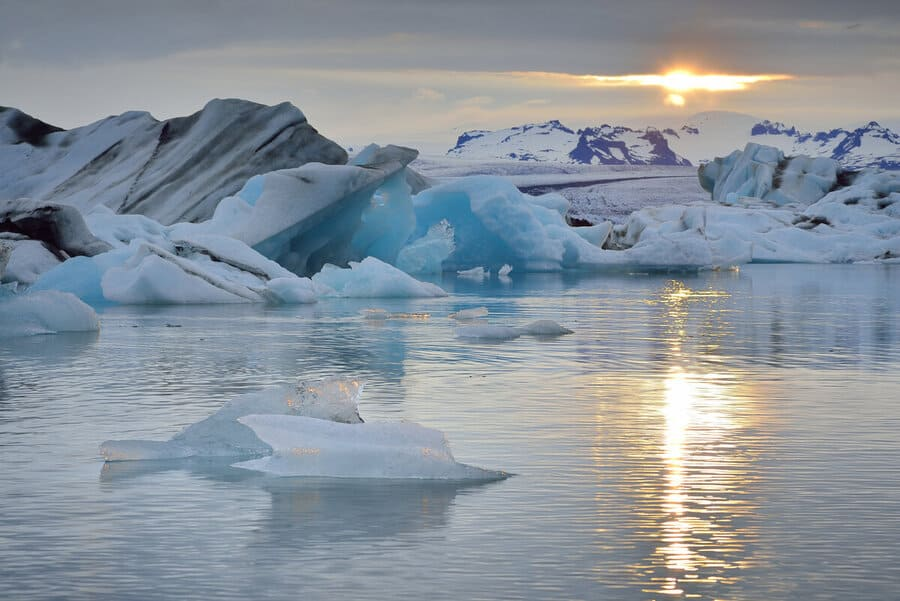 Удивительное преображение льда в Арктике