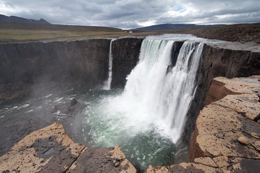 Водопад на реке Оран